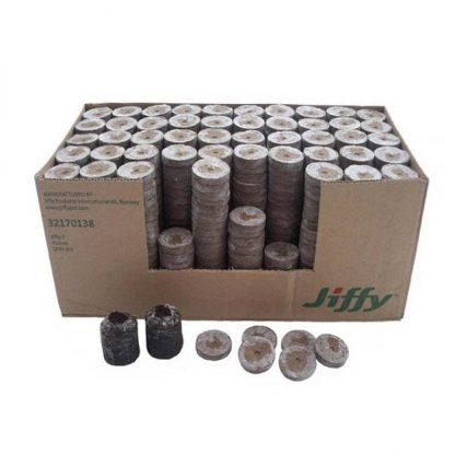 Торфяна таблетка Jiffy-7 Forestry 25 мм 10 штук